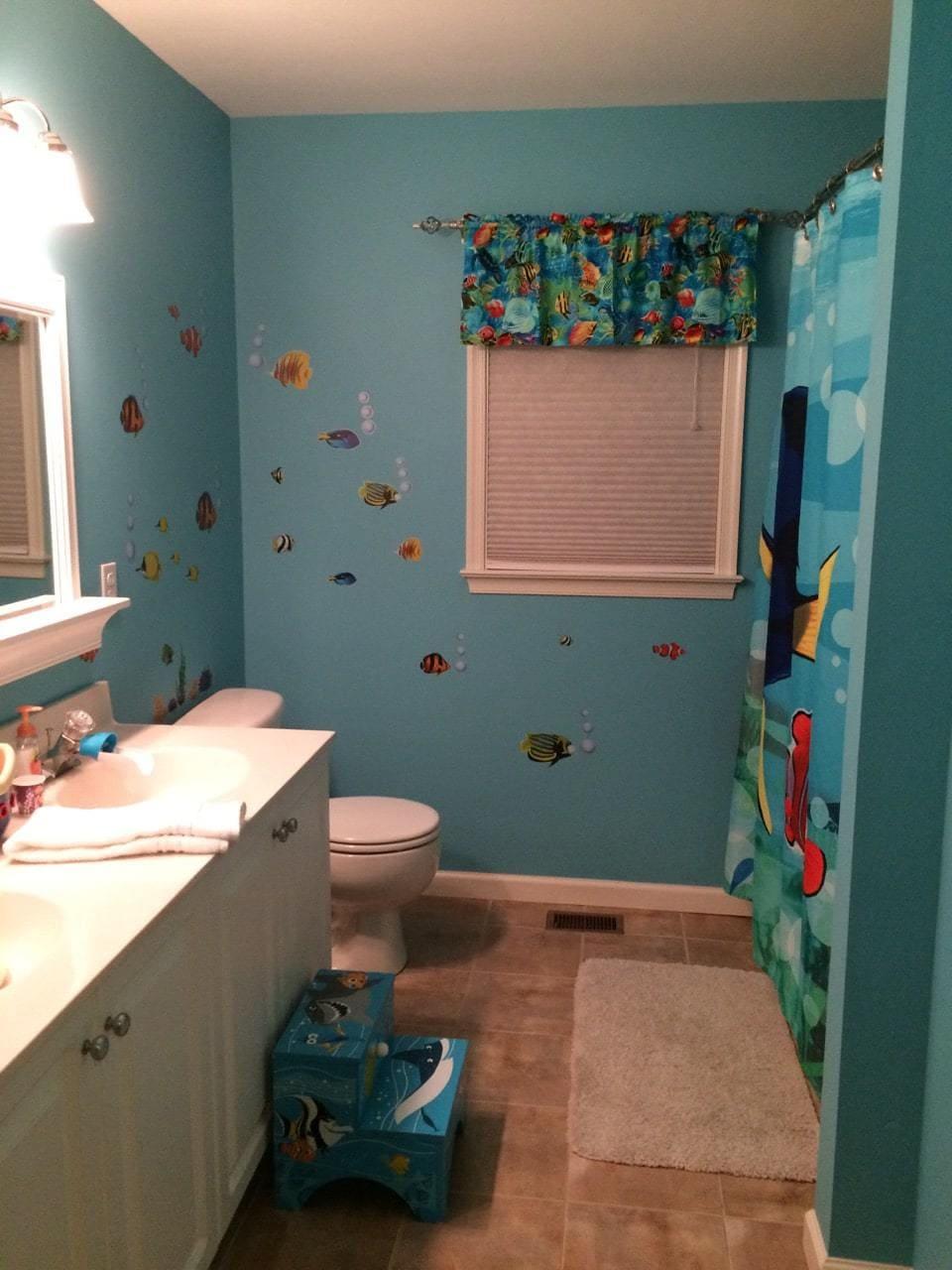 Finding Dory Bathroom