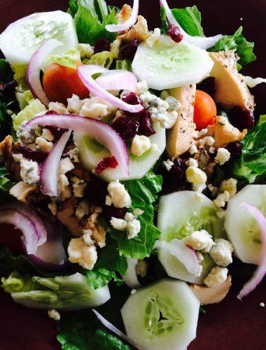 Chicken Blue Cheese Cranberry Salad