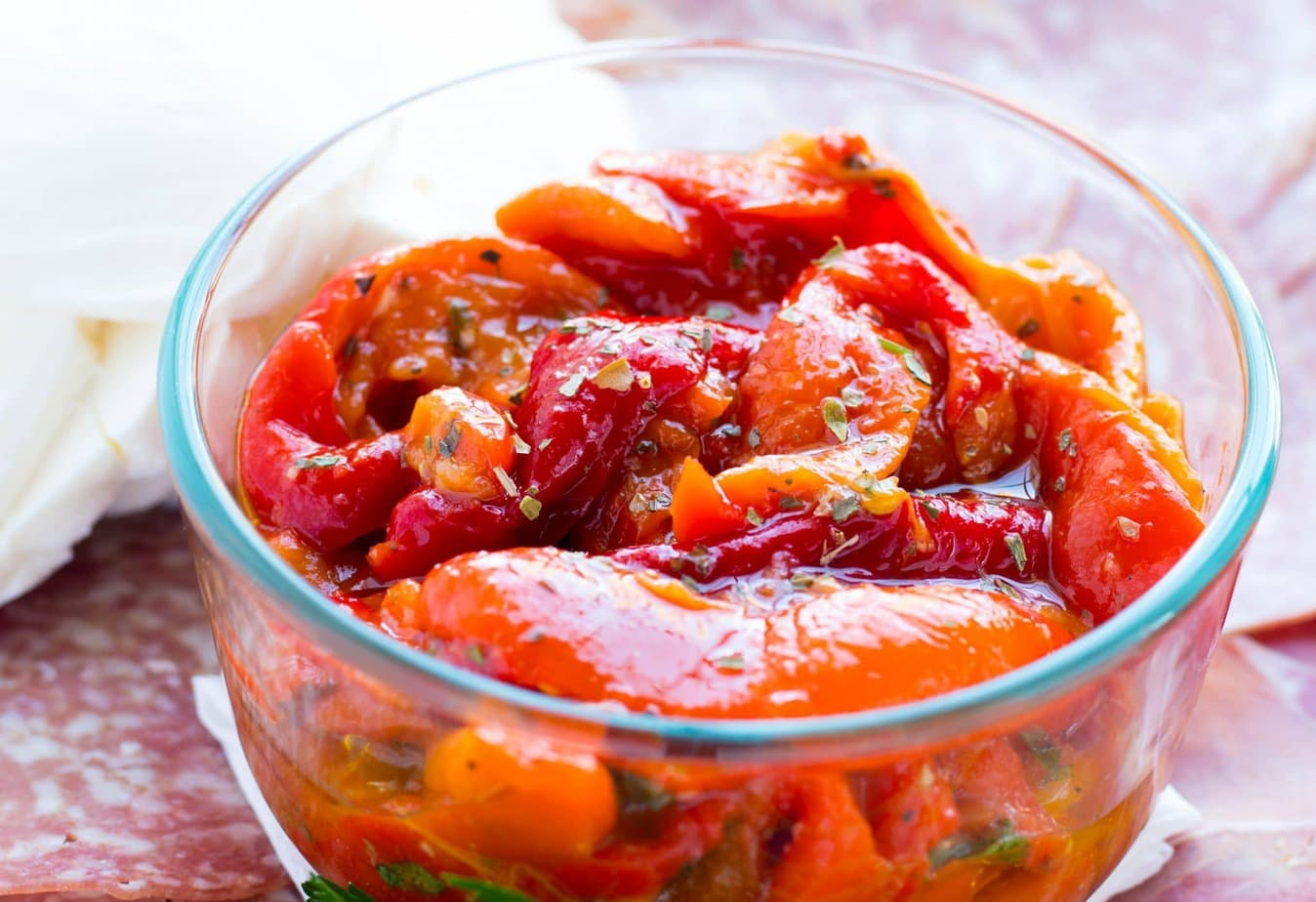 Italian Red Roasted Peppers
