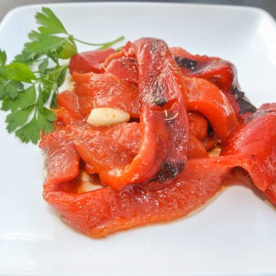Easy Roasted Red Peppers