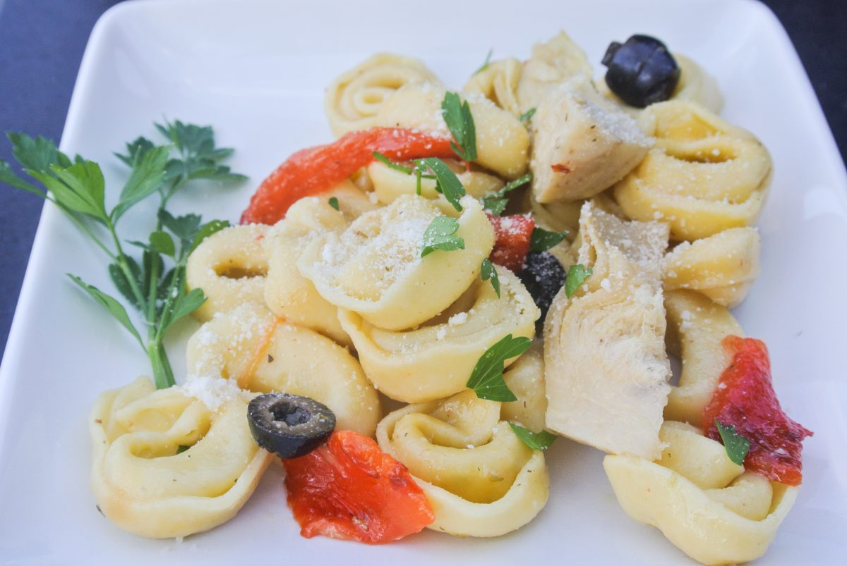 Antipasto Tortellini Side Dish or Pasta Salad