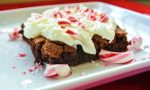 Festive Peppermint Brownies