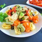 Easy Italian Antipasto Tortellini Salad
