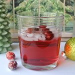 Cranberry Melon Vodka Tonic Cocktail