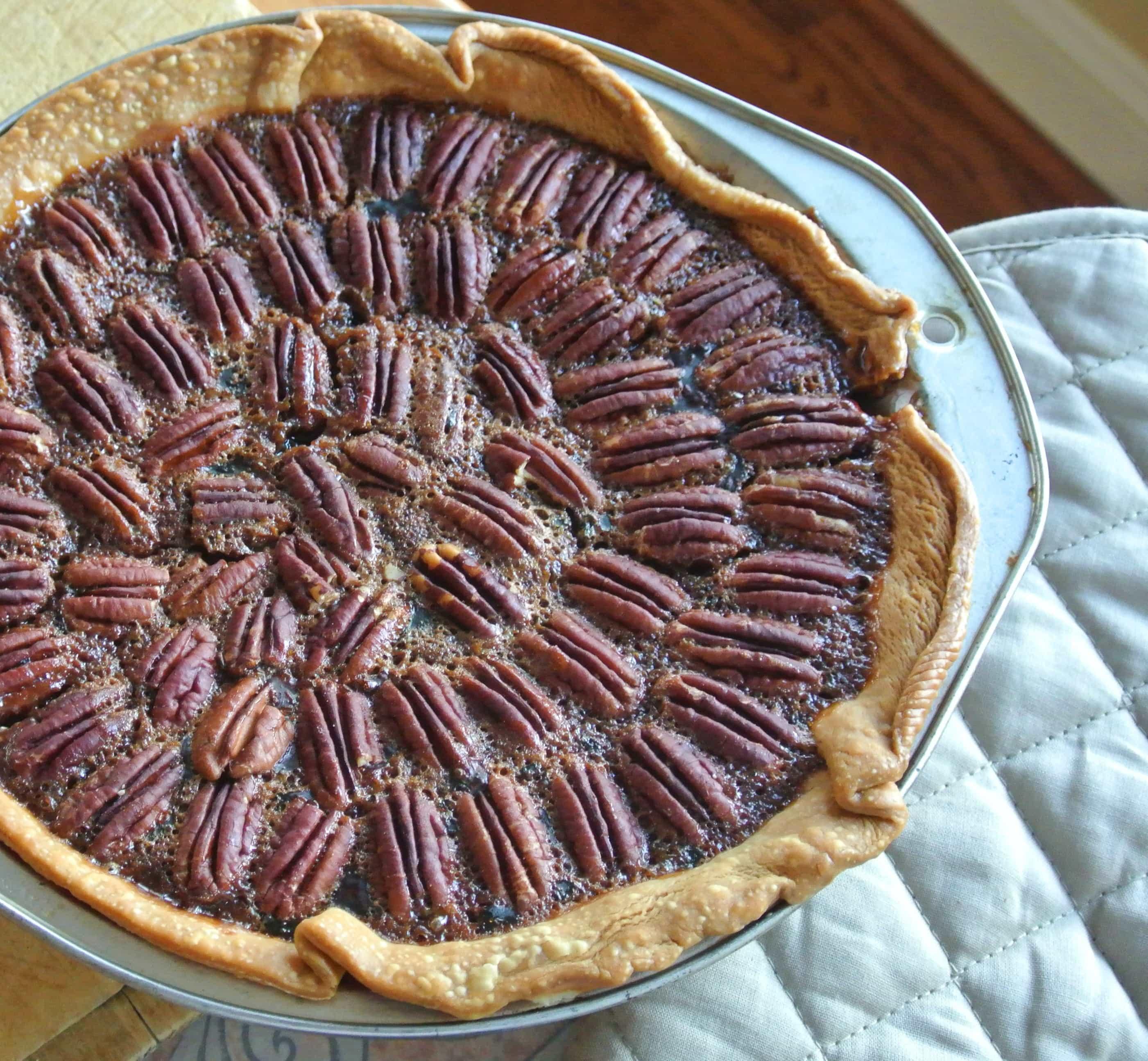 BOURBAN Chocolate Pecan Pie