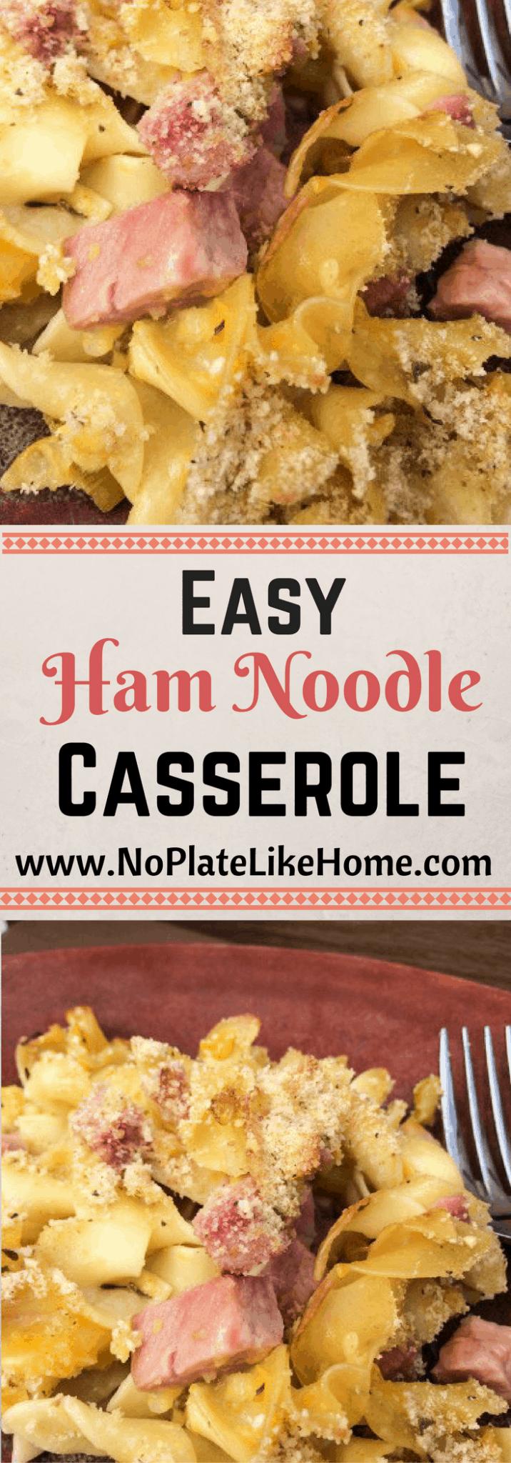 leftover ham recipes pasta