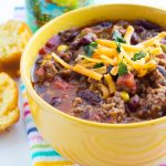 Loaded Slow Cooker Santa Fe Chili