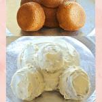 Easter Bunny Butt Cake
