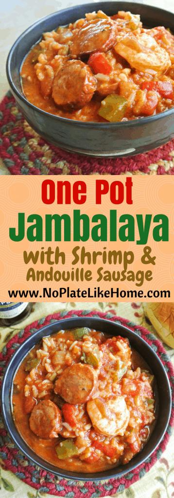 Jambalaya with Shrimp & Andouille Sausage
