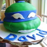 How to Make a Ninja Turtle Cake