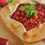 Strawberry Lemon Rhubarb Galette