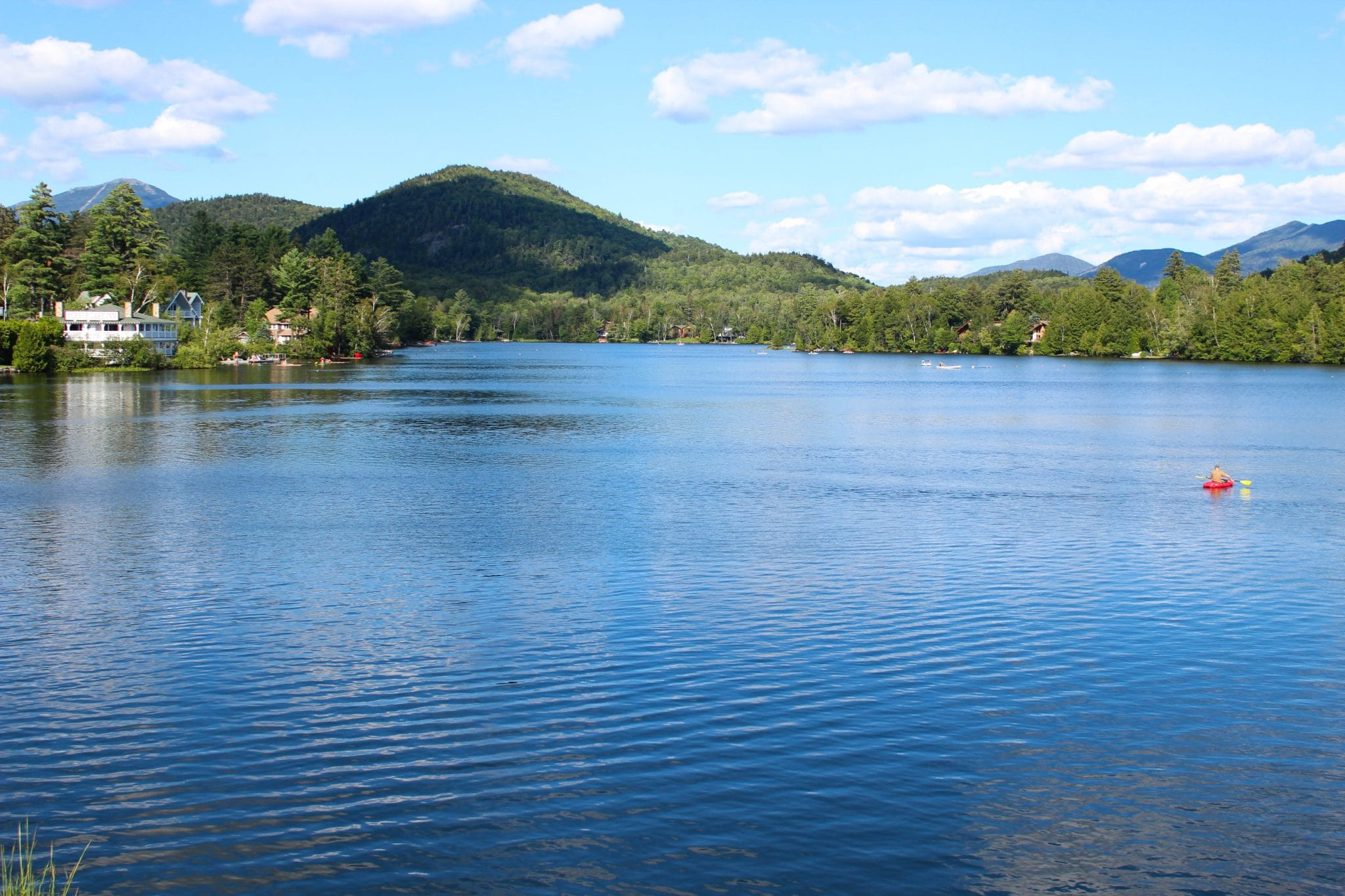 Lake Placid, NY in Summer