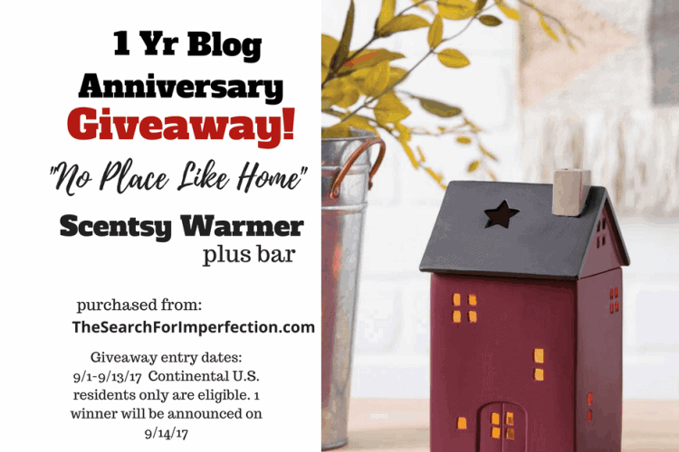 No Plate Like Home One Year Blog Anniversary Giveaway!