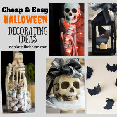 Cheap and Easy Halloween Decorating Ideas