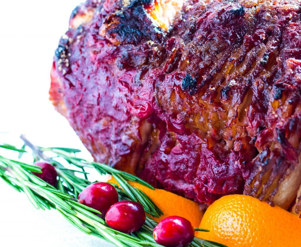 Cranberry Orange Baked Ham