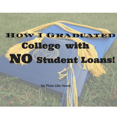 How I Graduated College with NO Student Loans!