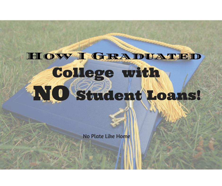 How I Graduated with No Student Loans!