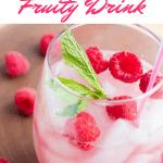 Best Raspberry Fruity Drink Cocktail