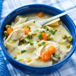 Instant Pot 10 Min Chicken Pot Pie Soup