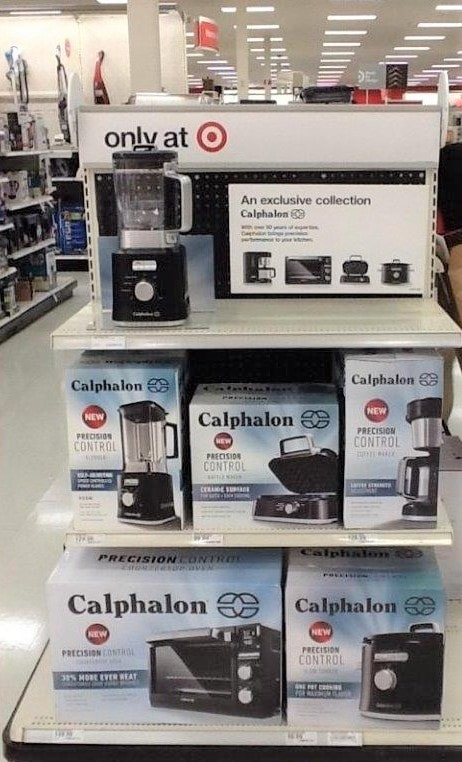 Calphalon Display Target In Store Photo