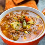 Instant Pot Easy Hamburger Soup in 20!