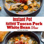 Instant Pot Hatfield Tuscan Pork and White Bean Stew