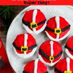 How to Make Santa Belly Brownies