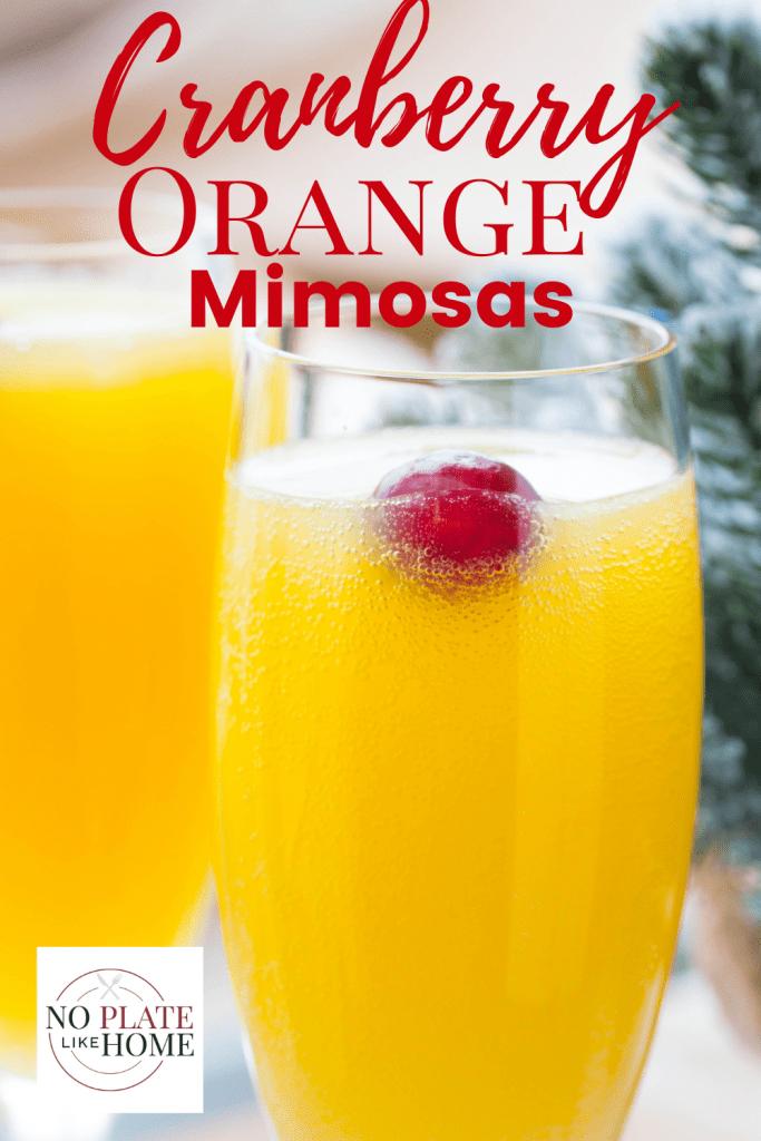 Cranberry Orange Mimosa Recipe