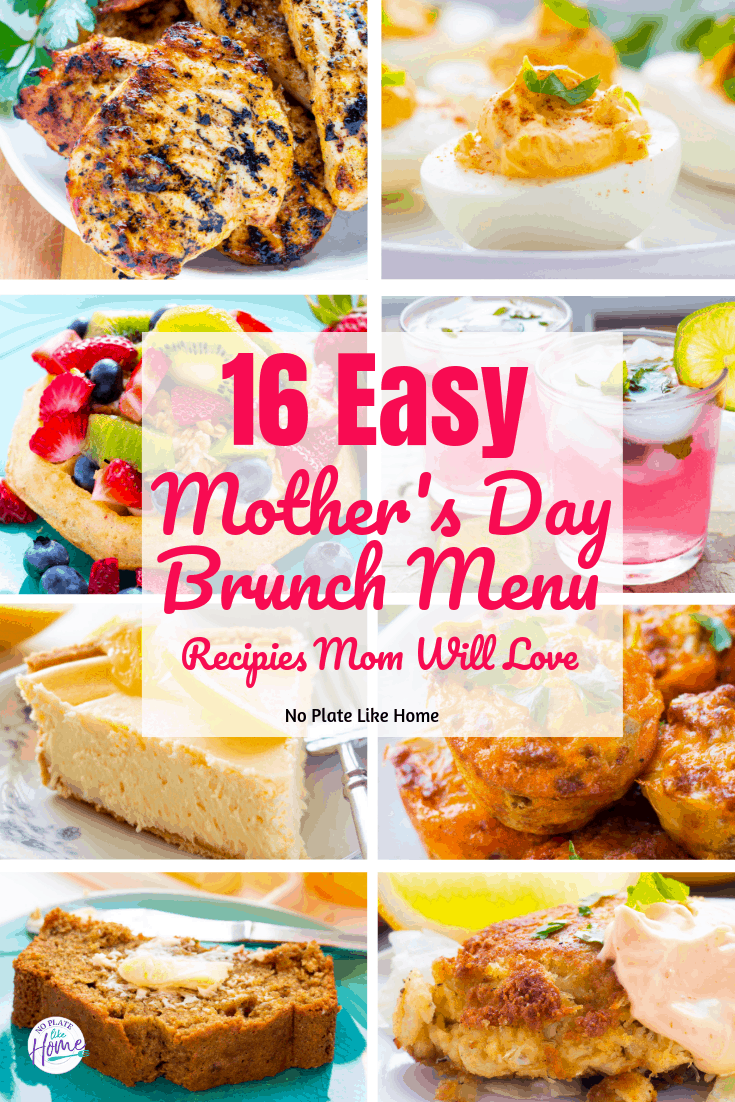 Easy Mother's Day Brunch Menu Mom Will Love
