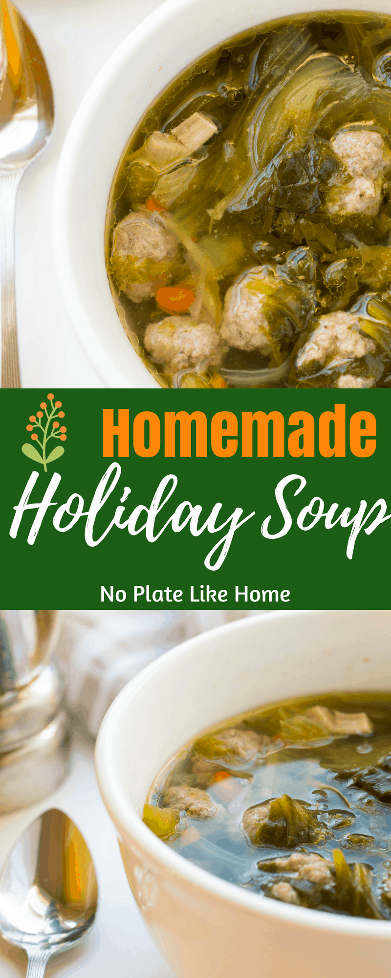 This One Pot Homemade Italian Wedding Soup is an authentic old country, from-scratch family recipe. Plus, it's the perfect cold remedy.