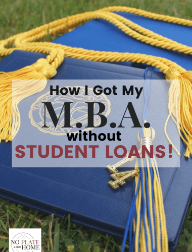How I Got My MBA with No Student Loans!
