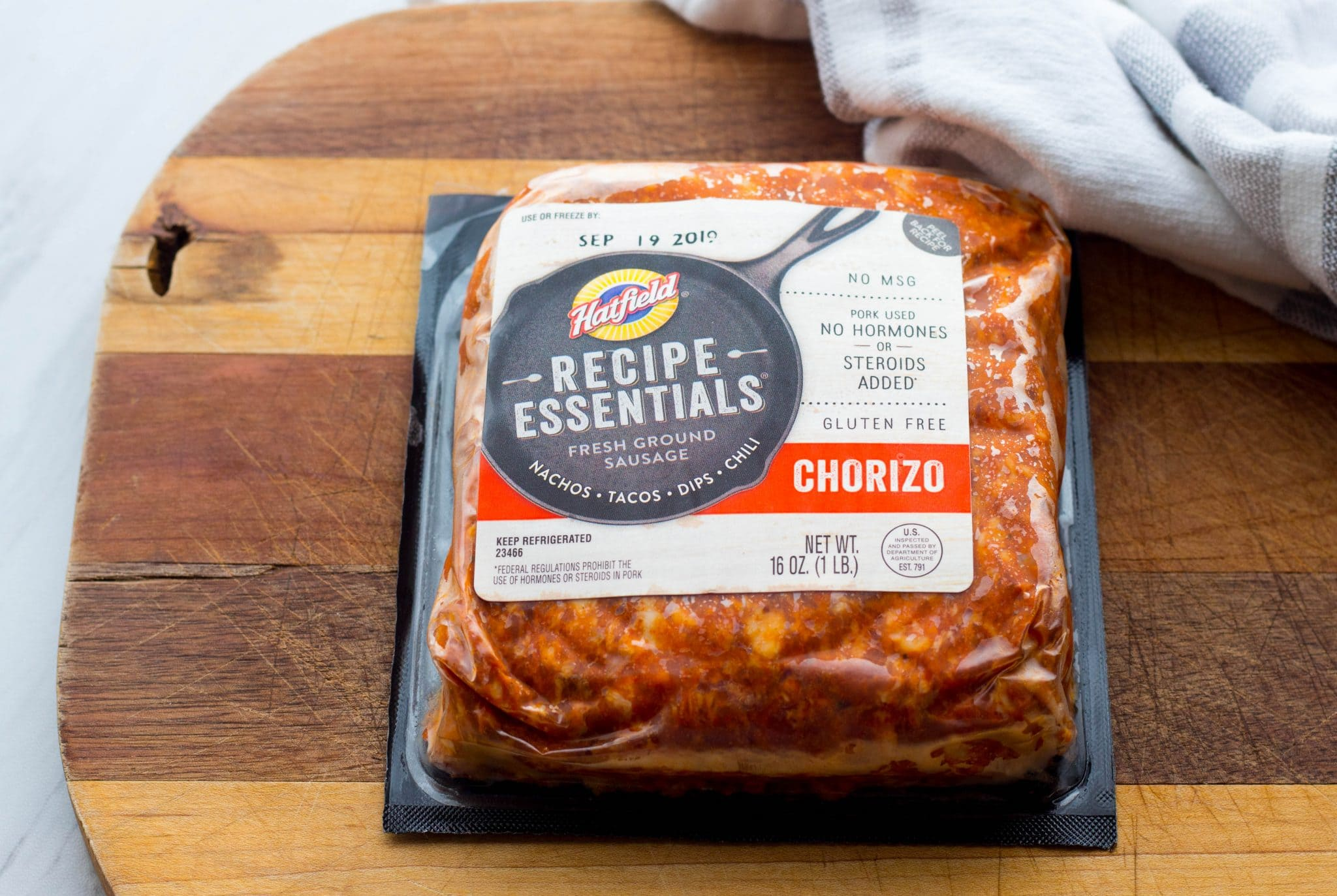 Hatfield Recipe Essentials Chorizo Sausage