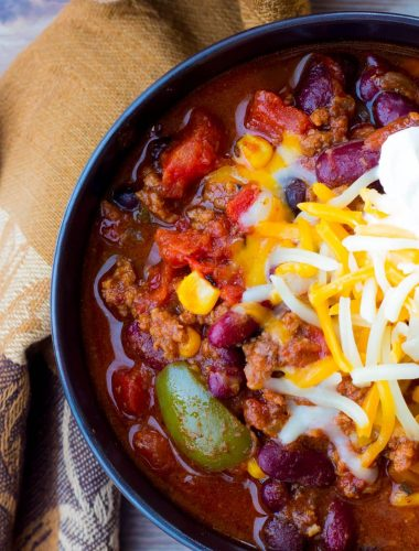 Fool Proof Loaded Santa Fe Slow Cooker Chili
