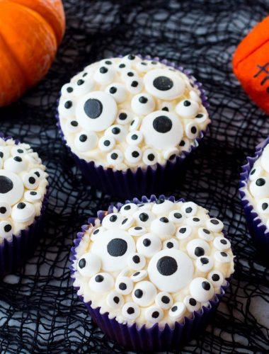Monster Eyes Cupcakes
