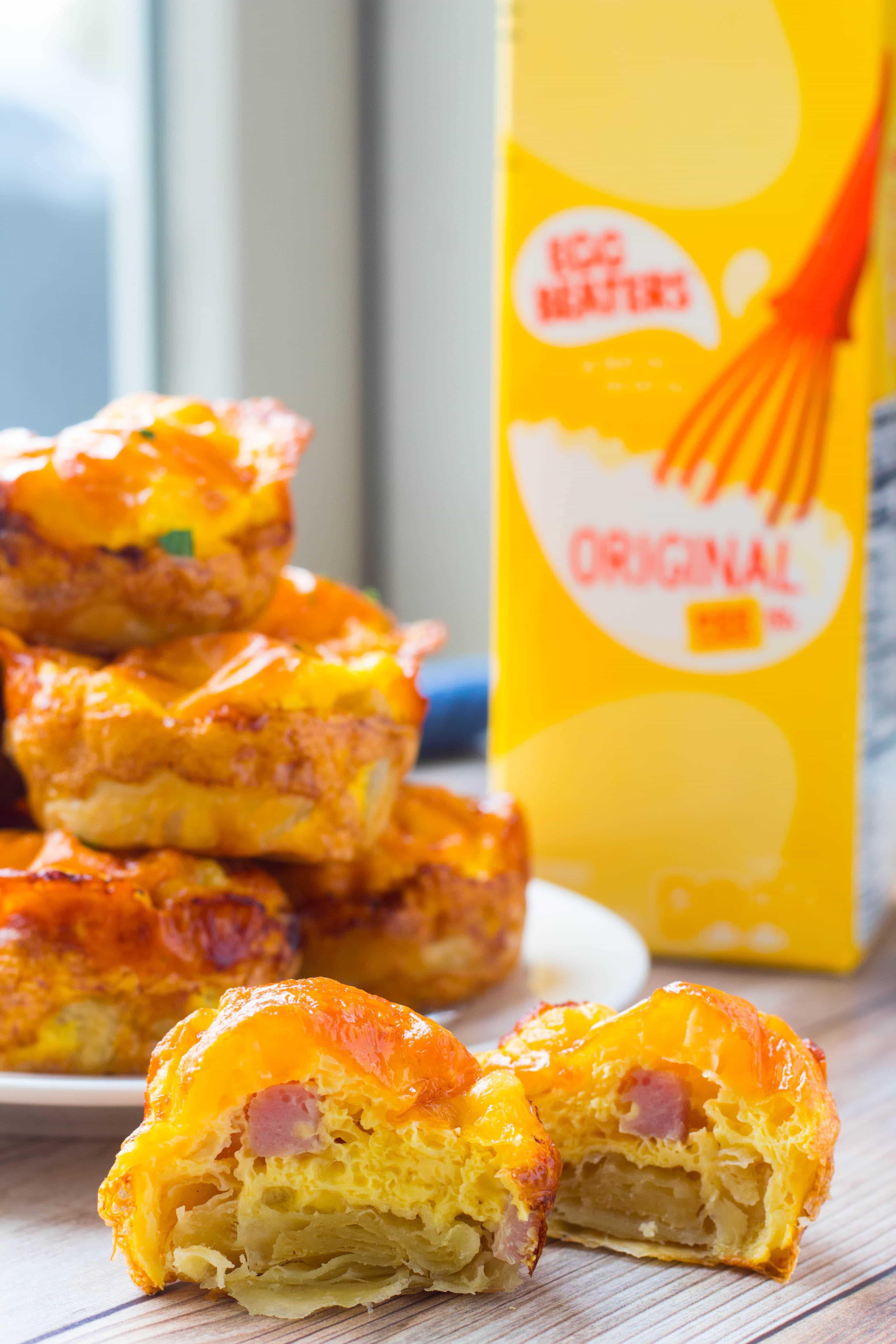 recipe for ham egg and cheese muffin cups