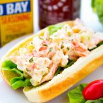 How to make a crab salad roll sandwich