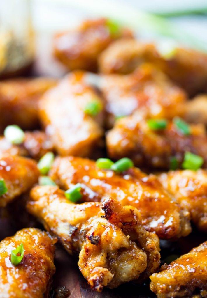 Air Fryer Honey Terkiyaki Chicken Wings