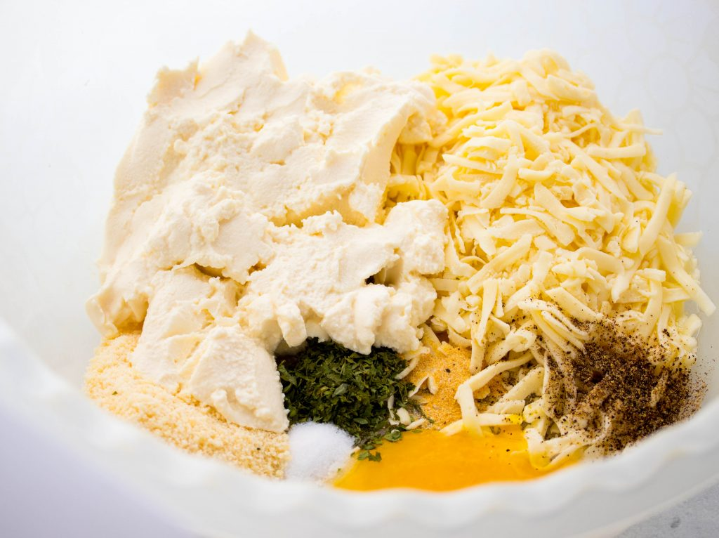 Baked Ziti cheese mixture