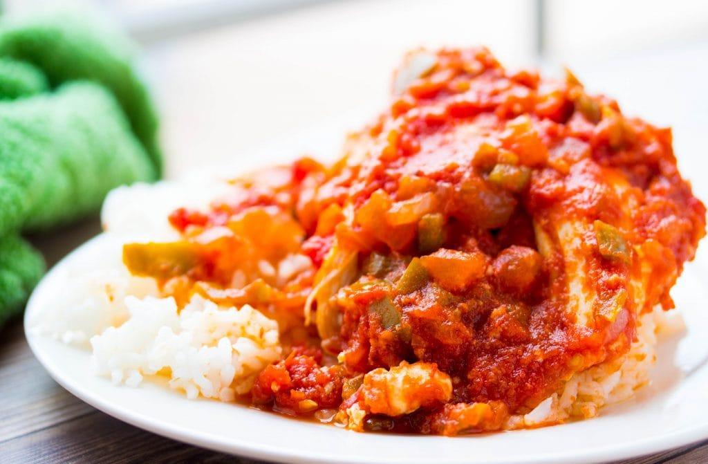Slow Cooker Salsa Chicken 4 Ingredients