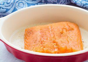 Baked Panko Djon Salmon Recipe