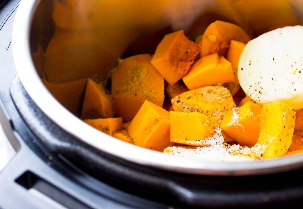 Curry Butternut Squash Soup Coconut Milk