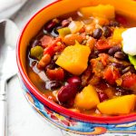 Butternut Squash Chili Slow Cooker