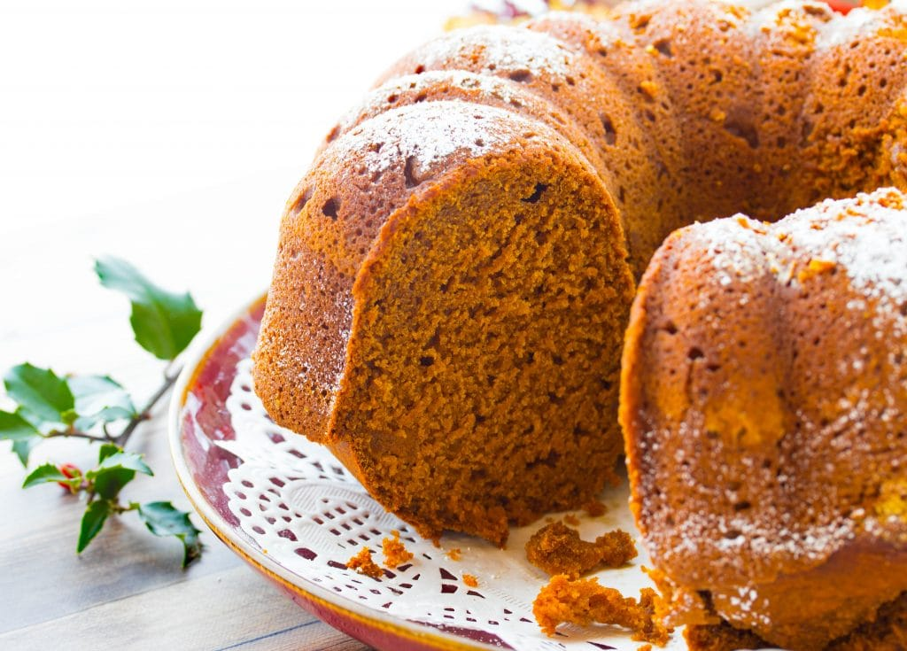 Pumpkin Gingerbread Bundt Cake