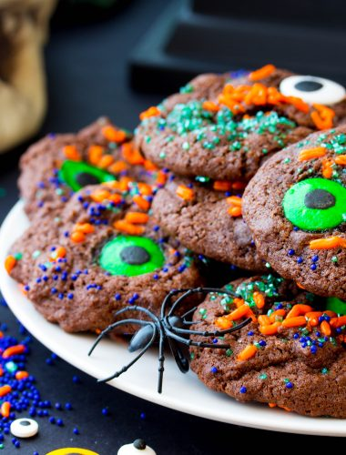 Monster Mash Chocolate Cookies