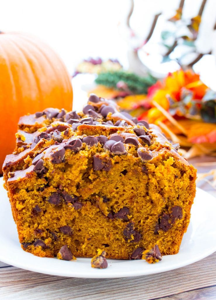 Best Chocolate Chip Pumpkin Bread