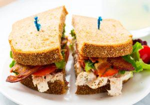 Turkey Salad Sandwich BLT