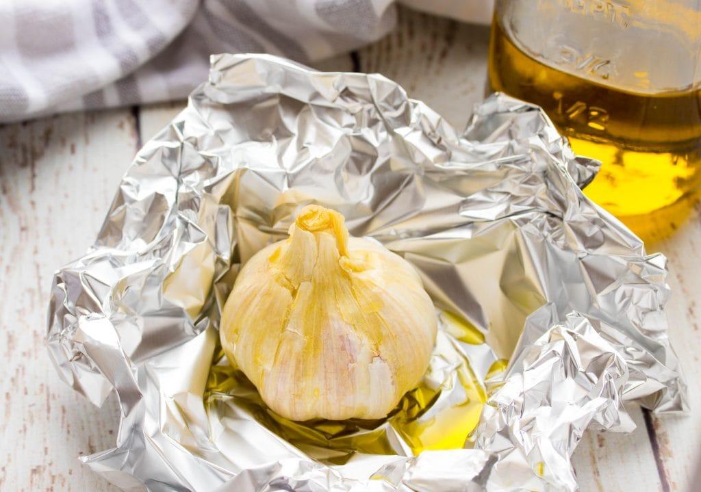 How to Roast a Garlic Bulb