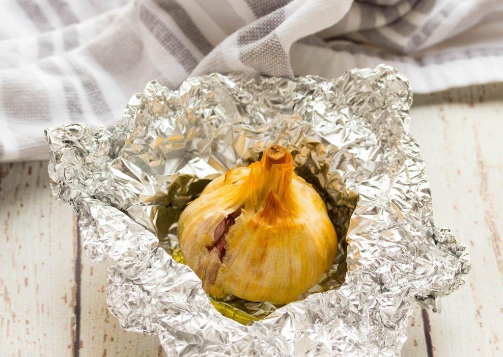 Roasted Garlic Parmesan Mashed Potatoes