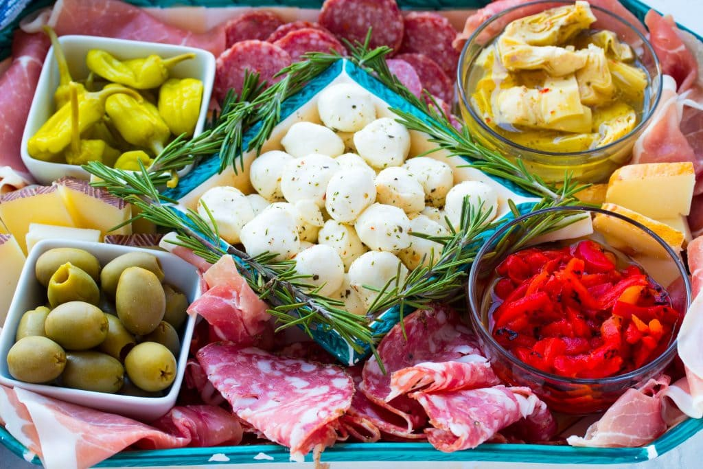 How to make an Italian antipasto platter