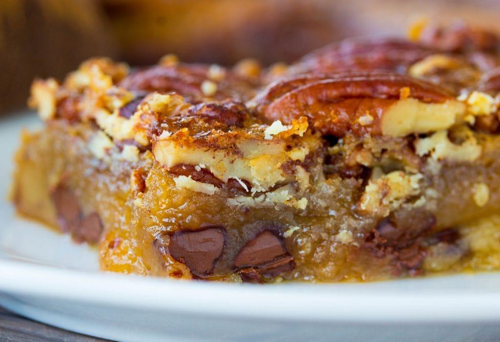 Pecan Pie Bars with Shortbread Crust